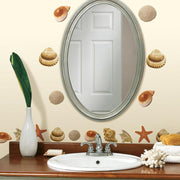 Seashells Wall Decals roomset 2