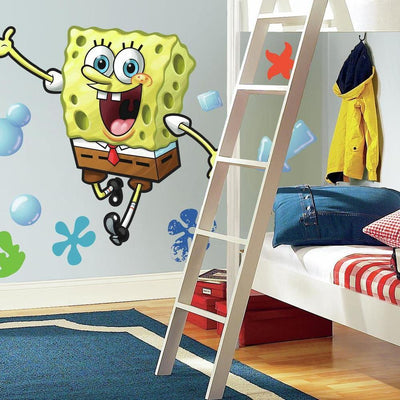 Spongebob Squarepants Giant Wall Decal roomset