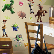 Toy Story 3 Glow in the Dark Wall Decals roomset 2