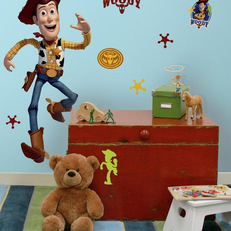 Woody Giant Wall Decal roomset