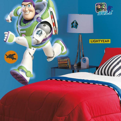 Buzz Lightyear Glow in the Dark Giant Wall Decal roomset