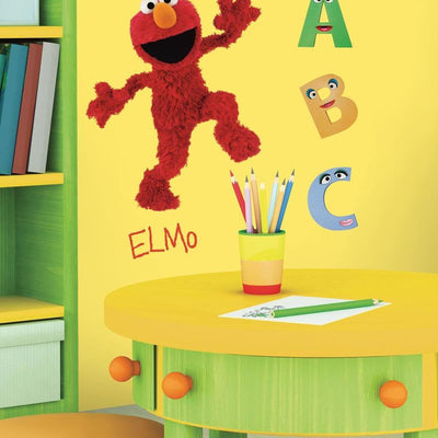 Elmo Giant Wall Decal roomset