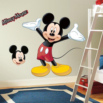 Mickey Mouse Giant Wall Decal roomset