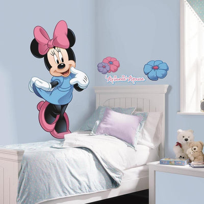 Minnie Mouse Giant Wall Decal roomset