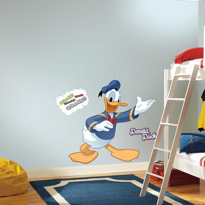 Donald Duck Giant Wall Decal roomset