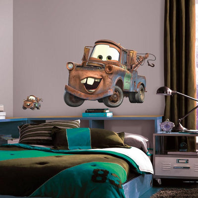 Cars Mater Giant Wall Decal roomset