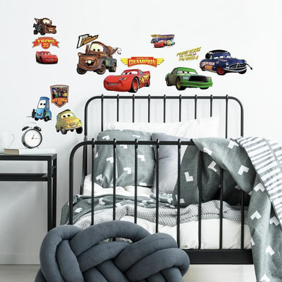 Disney Cars Piston Cup Champions Wall Decals roomset