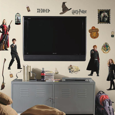 Harry Potter Wall Decals roomset