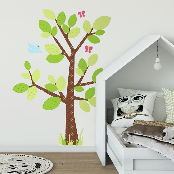 Kids Tree Giant Wall Decal roomset