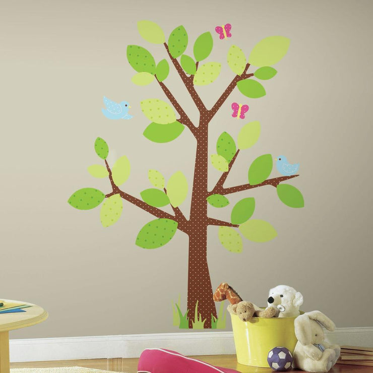 Kids Tree Giant Wall Decal roomset 2