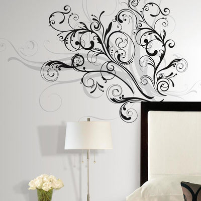 Forever Twined Giant Wall Decals roomset