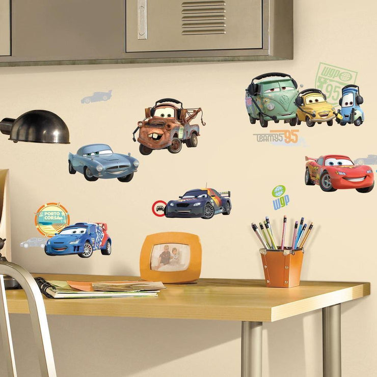 Disney Cars Wall Decals roomset