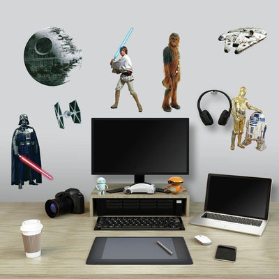 Star Wars Classic Wall Decals roomset