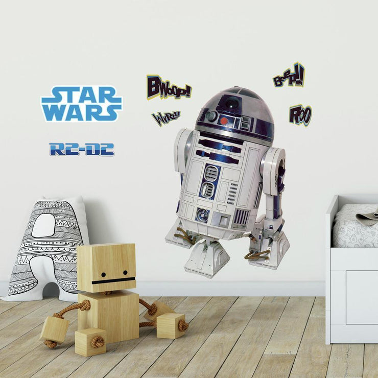 Star Wars R2-D2 Giant Wall Decal roomset