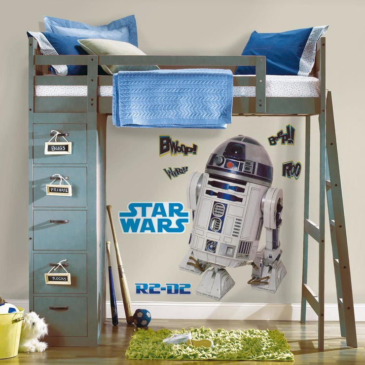 Star Wars R2-D2 Giant Wall Decal roomset 2