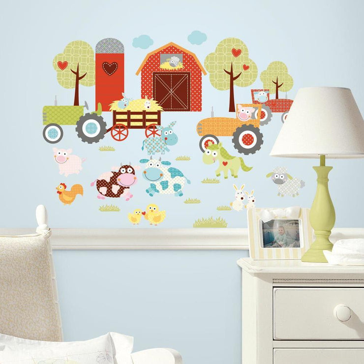 Happi Barnyard Wall Decals roomset 2