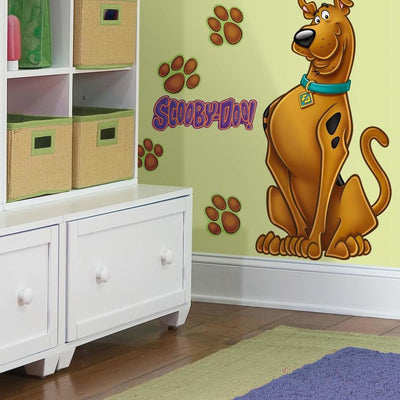 Scooby-Doo Giant Wall Decal roomset
