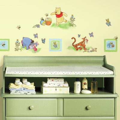 Winnie the Pooh Wall Decals roomset