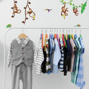 Monkey Business Wall Decals roomset 4