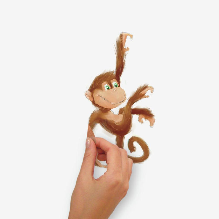 Monkey Business Wall Decals peel