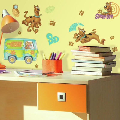 Scooby-Doo Wall Decals roomset