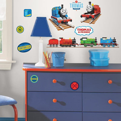 Thomas the Tank Engine Wall Decals roomset