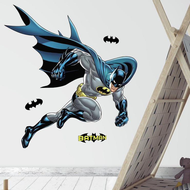 Batman Bold Justice Giant Wall Decal roomset