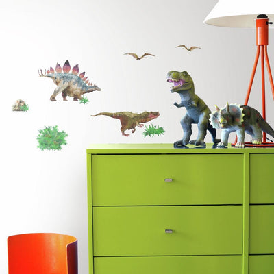 Dinosaur World Wall Decals roomset