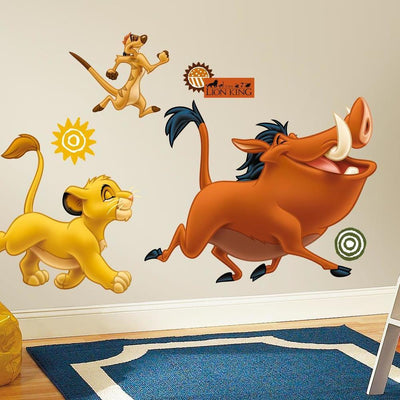 The Lion King Giant Wall Decals roomset