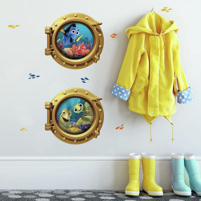 Disney Pixar Finding Nemo Giant Wall Decals roomset