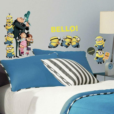 Despicable Me 2 Wall Decals roomset