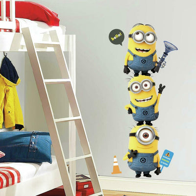 Despicable Me 2 Minions Giant Wall Decals roomset