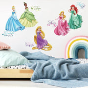 Disney Princess Royal Debut Wall Decals with Glitter roomset