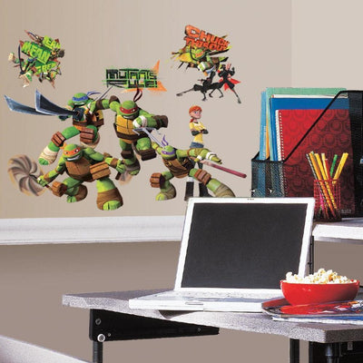 Teenage Mutant Ninja Turtles Wall Decals roomset