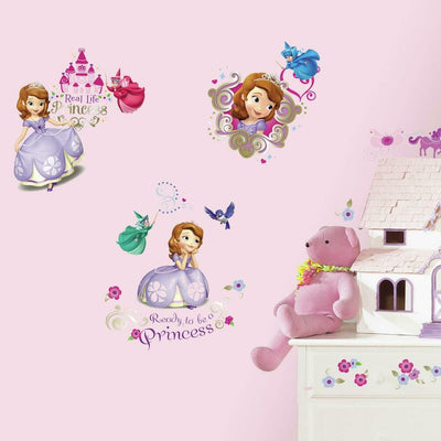 Sofia the First Wall Decals roomset