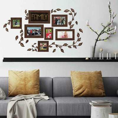 Family Frames Wall Decals roomset