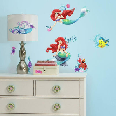 The Little Mermaid Wall Decals roomset