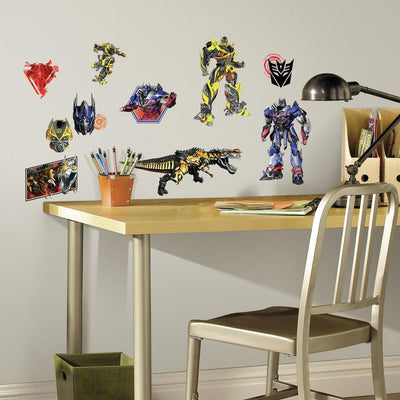 Transformers: Age of Extinction Wall Decals roomset