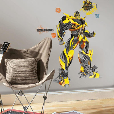 Transformers: Age of Extinction Bumblebee Giant Wall Decal roomset