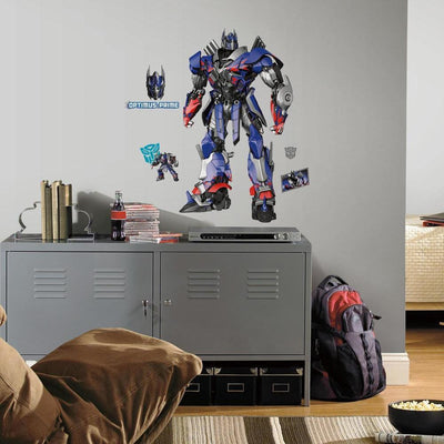 Transformers: Age of Extinction Optimus Prime Giant Wall Decal roomset