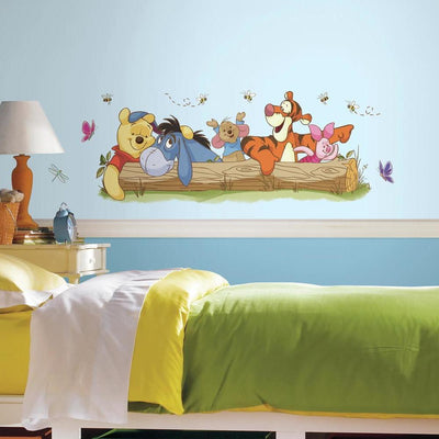 Pooh and Friends Outdoor Fun Giant Wall Decals roomset