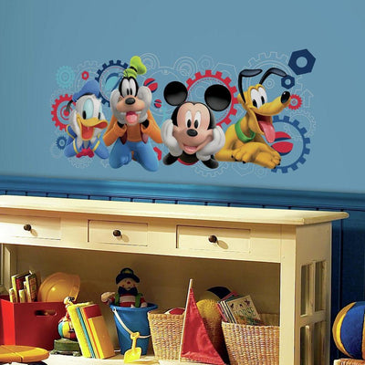 Mickey Mouse Clubhouse Capers Giant Wall Decals roomset