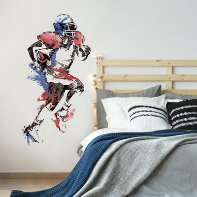 Men's Football Champion Giant Wall Decals roomset