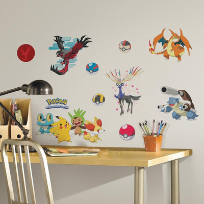 XY Pokémon Wall Decals roomset