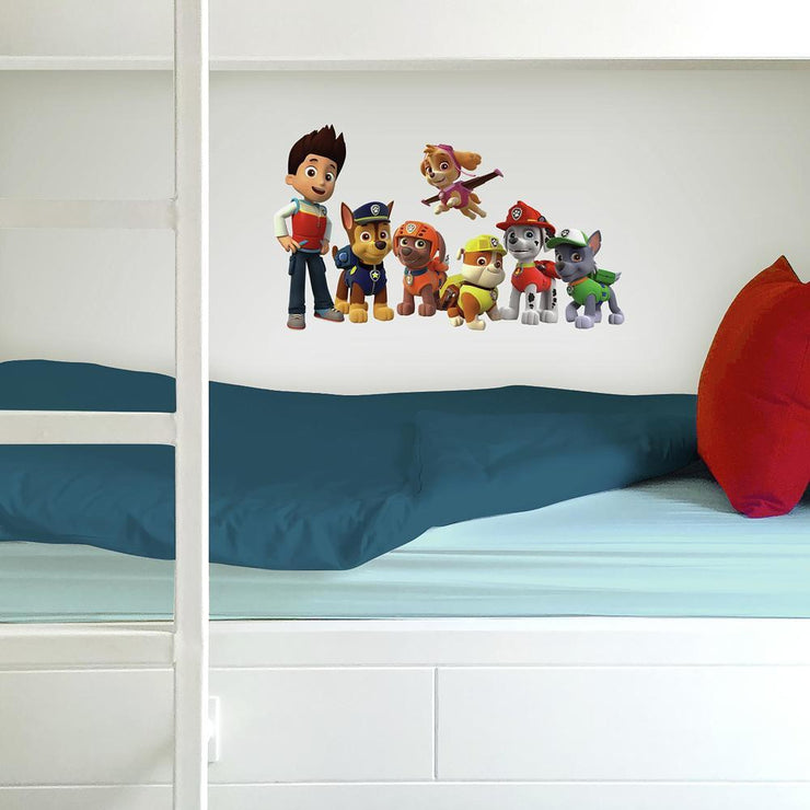PAW Patrol Wall Decals roomset 3