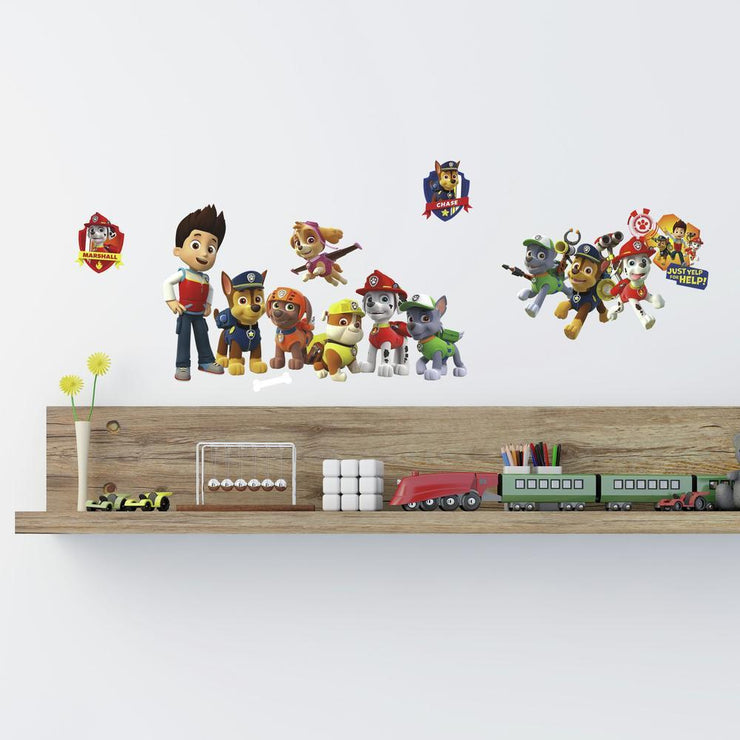 PAW Patrol Wall Decals roomset 2
