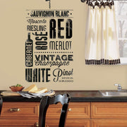 Wine Lovers Wall Decals roomset