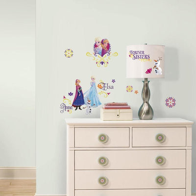 Disney Frozen Spring Wall Decals roomset