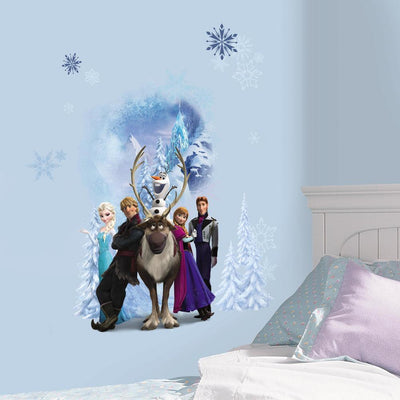 Disney Frozen Group Giant Wall Decals roomset