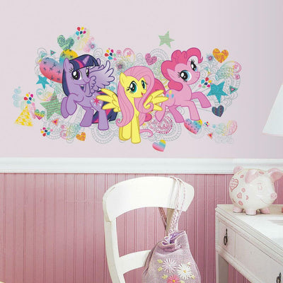 My Little Pony Giant Wall Graphic roomset